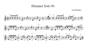 DrumsetSolo#1