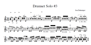 DrumsetSolo#3